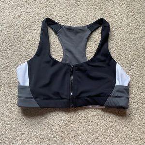 vie active zip up sports bra